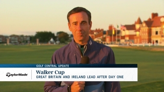 Golf Central Update: Great Britain & Ireland lead at Walker Cup