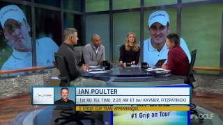 Why did Poulter pick Italy over defending Houston Open title?