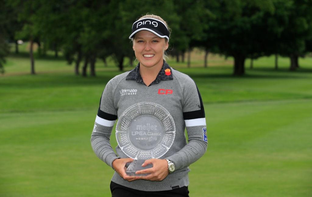 Meijer LPGA Classic: Brooke Henderson